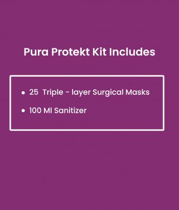 puraprotekt mask and hand sanitizer