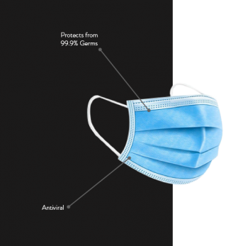 3 layer Disposable Surgical face mask